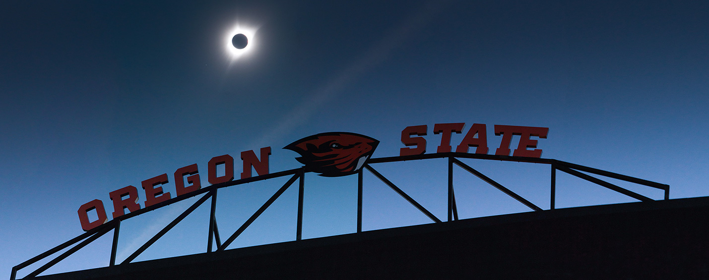 Eclipse at Oregon State University