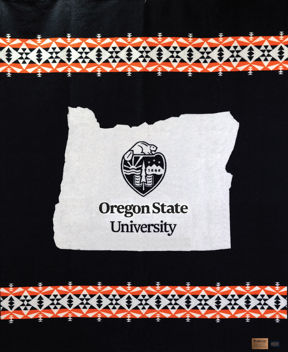 osu150 commemorative blanket
