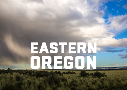 Eastern Oregon landscape