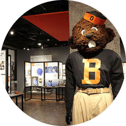 OSU 150 exhibit