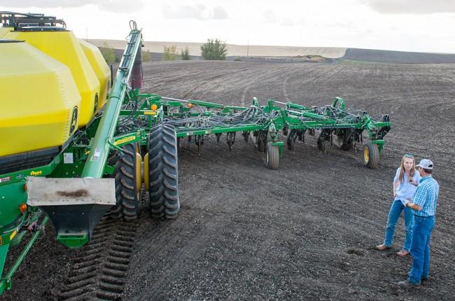 wheat farming equipment