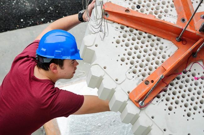 Testing equipment in Radiation Center
